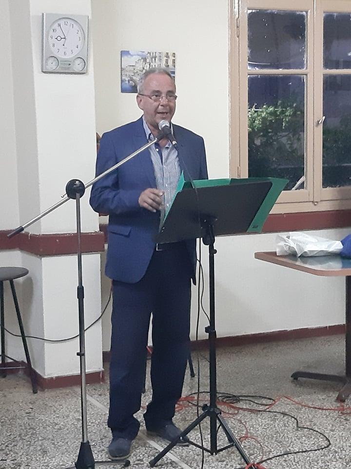 Ομιλία στο Τ.Δ. Λεοντίου 17/5/2019 (Image)